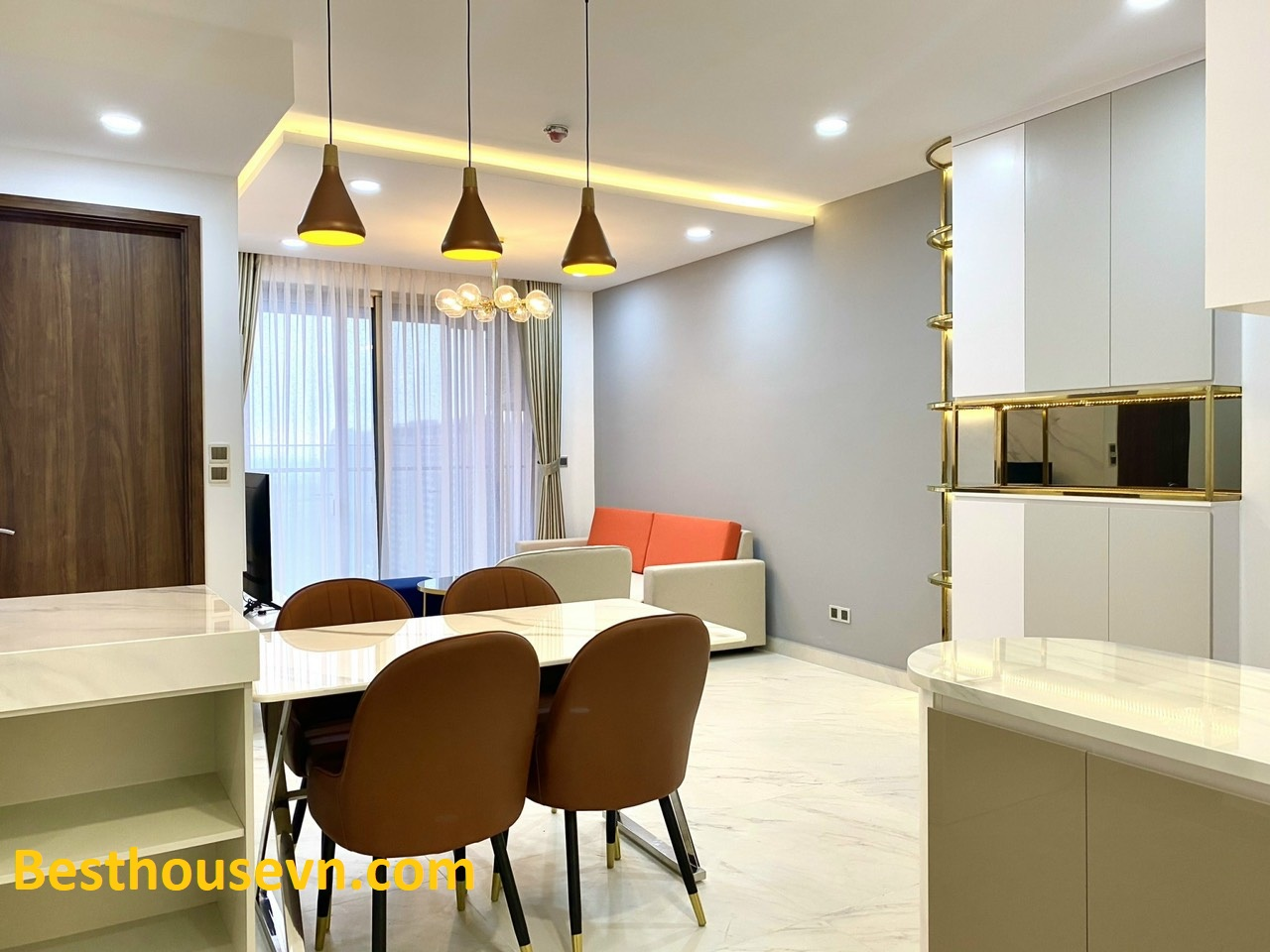 Beautiful-apartment-in Midtown-110sqm-district 7