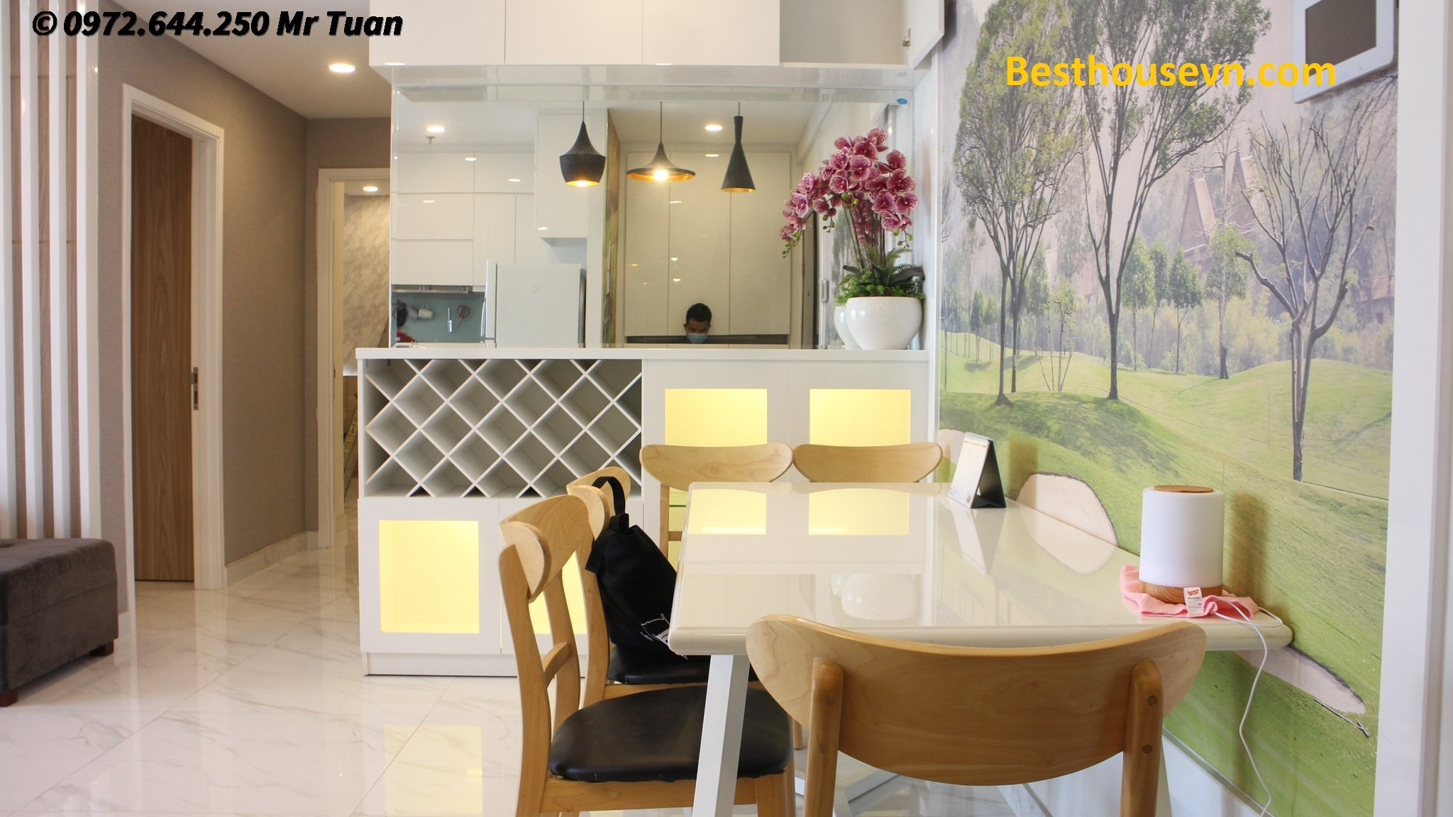 Gorgeous-apartment-90m2-for-rent-in-green valley-hcmc