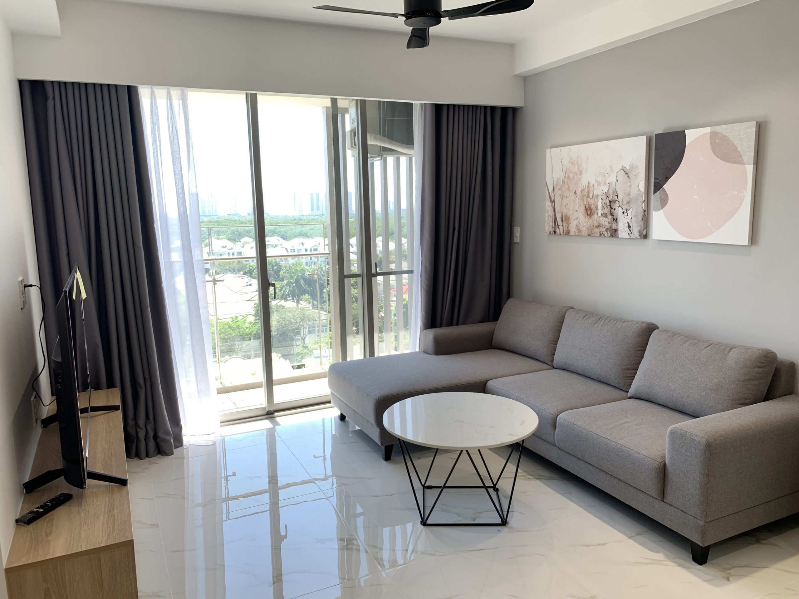 3bedrooms for rent  in hung phuc happy residence