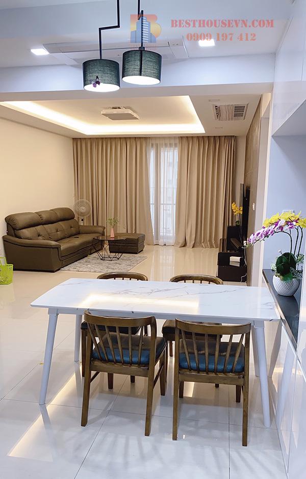 Rent Riverpark Premier apartment high floor district 7